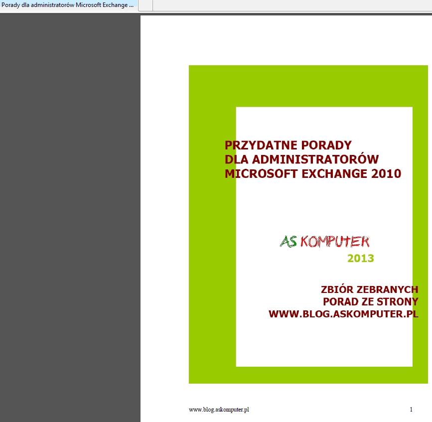 Sharepoint – obsługa plików PDF cz. 3: Podgląd pliku PDF w przeglądarce