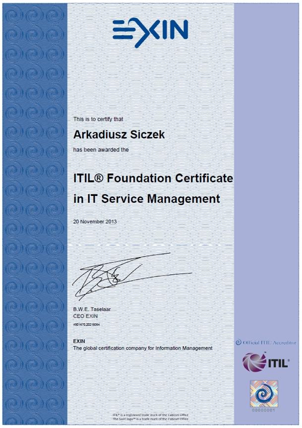Certyfikat ITIL – jak zdać, gdzie się nauczyć