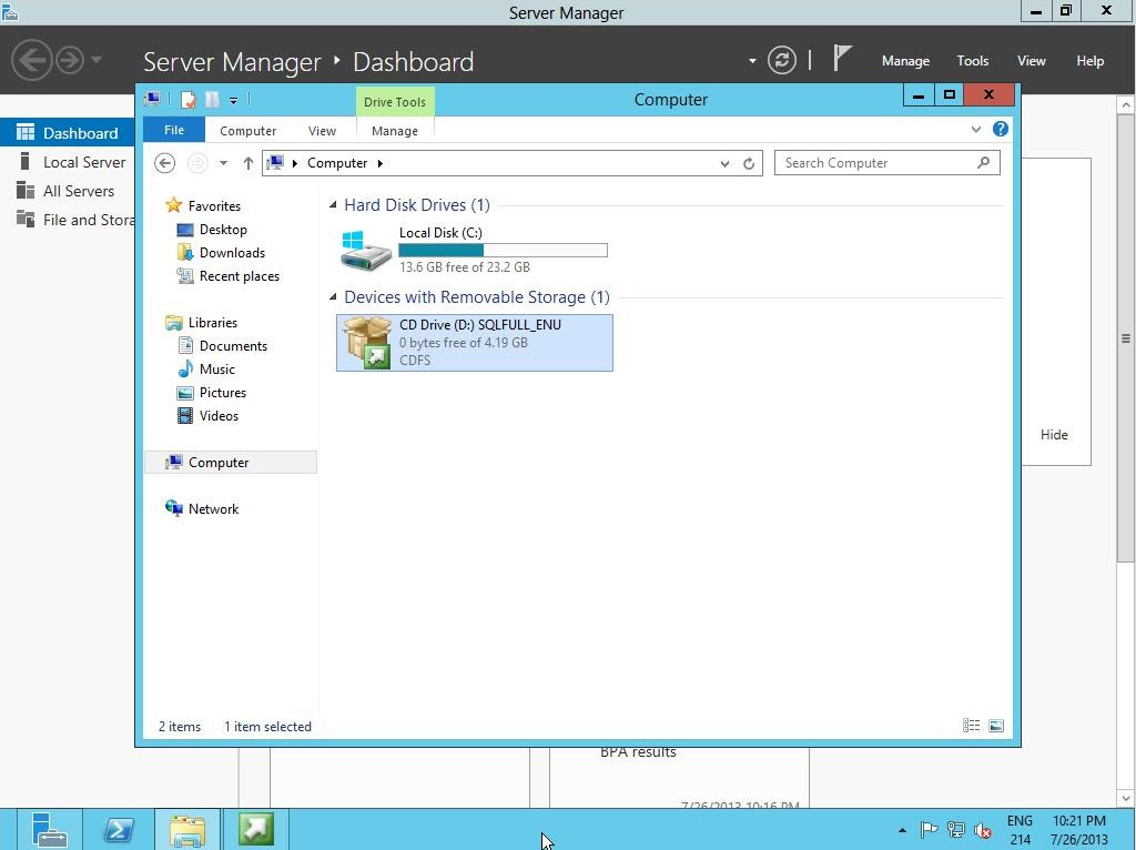 Instalacja Microsoft SQL 2012 dla Sharepoint 2013 – Część 1