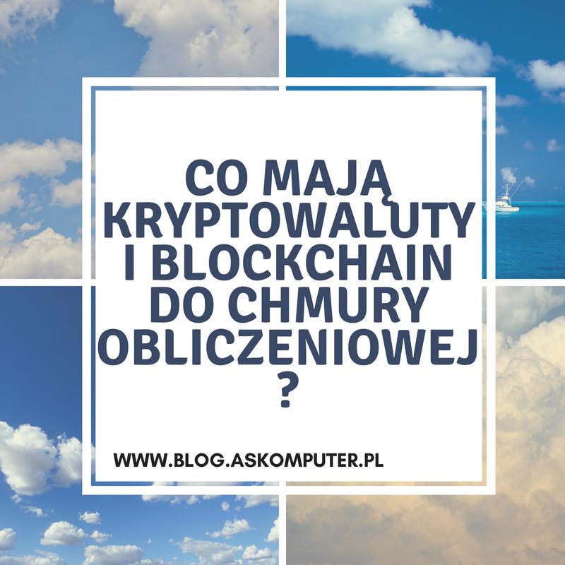 Chmura obliczeniowa blockchain